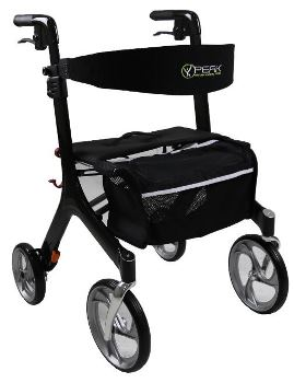 Peak Care Ellipse SuperLite Carbon Fibre Rollator