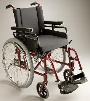 Care Quip Rainbow Wheelchair - 818