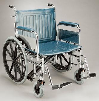 Care Quip Heavy Duty Wheelchair 605