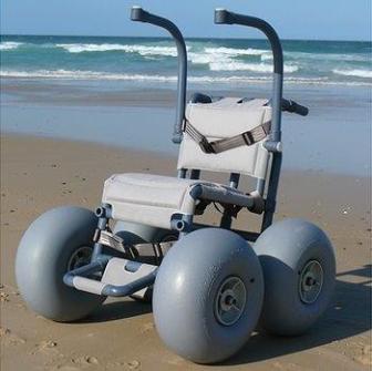 BeachWheels All Terrain Wheelchair