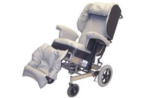 Glide Comfort Plus Hi Care Wheelchair