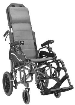 Karma VIP 515 Folding Tilt Wheelchair