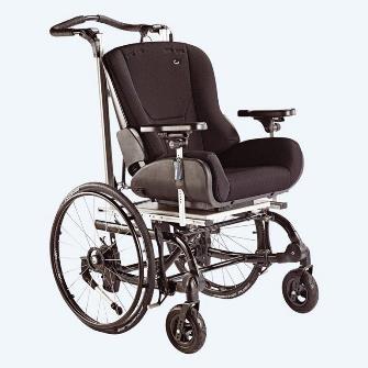 R82 Combi x Wheelchair Base with Panda Futura 5 Seat