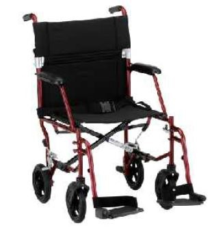 Redgum Hematite Lightweight Transit Wheelchair