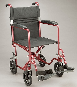Care Quip Echo Transit Wheelchair 201