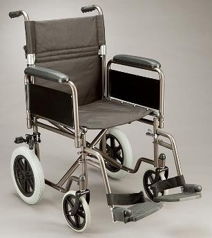 Care Quip Combi Deluxe Transit Wheelchair 404