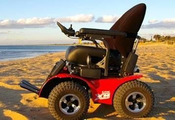 Magic Mobility Extreme X8 4WD Wheelchair