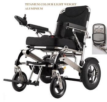 Auto Folding Electric Wheelchair