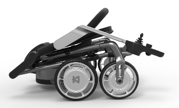 Lightweight Foldable Four Wheeled Electric Wheelchair