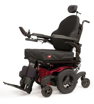 Quickie QM-710 Powered Wheelchair
