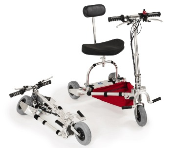 TravelScoot Lightweight Three Wheel Scooter