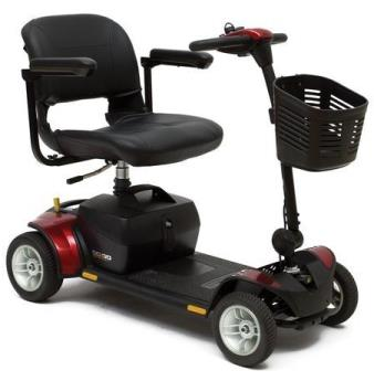 Pride Go-Go Elite Traveller Plus Four Wheel Scooter