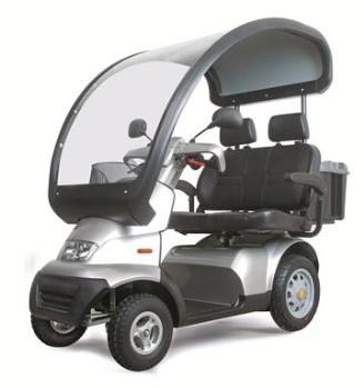 Afikim Breeze S Dual 4-wheel Scooter
