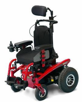 Pride Sparky Rear Wheel Drive Powered Wheelchair