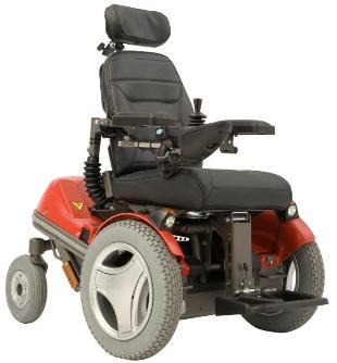 Permobil Koala Mini-Flex Powered Wheelchair