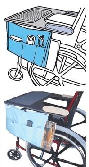 Pelican Wheelchair Tray Bag 299TB