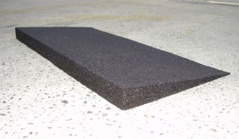Rubber Wedge Ramp