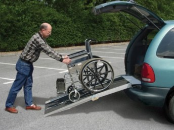 PVI Utility Multifold Wheelchair Suitcase Ramps