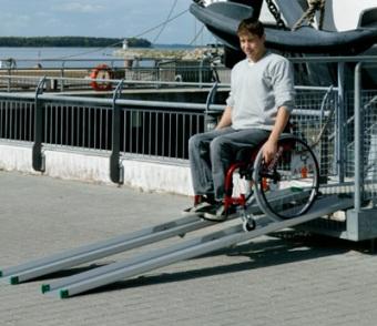 Stepless Guldmann Folding Ramp