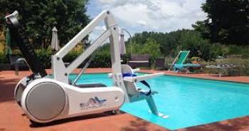 i-Swim Portable Pool Lifts   Assistive Technology Australia ...