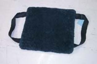 Sheepskin Sliding Mat With Handles