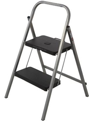 homemaker two step aluminium ladder - Step Stool With Handle