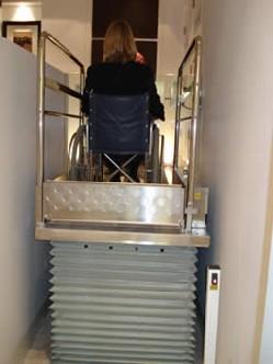 Terry Step Lift TSL 1000 Platform Lift