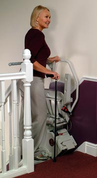 Sit and Stand Stairlift