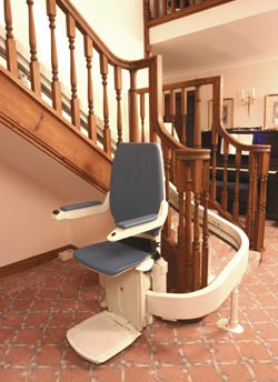 Curved Stairlift