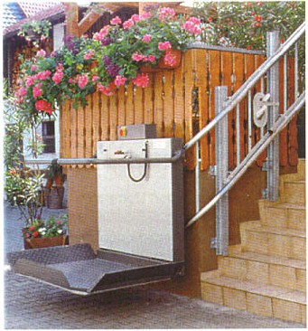 Hiro 320 Inclined Wheelchair Lift | Assistive Technology Australia ...