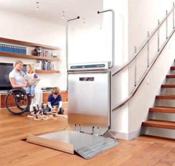 Ascendor S Wheelchair Stairlift