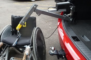 PME Liftmaster Scooter and Wheelchair Boot Hoist
