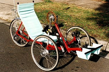 Greenspeed Recumbent Hand Trike
