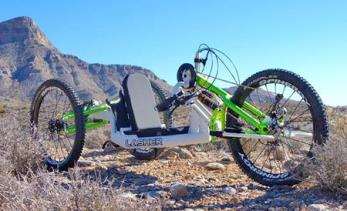 Lasher ATH-FS Full Suspension Handcycle