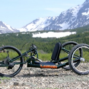 Lasher ATH All Terrain Handcycle