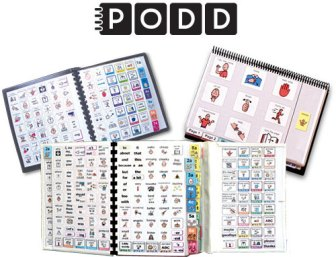 Pragmatic Organisation Dynamic Display (PODD) Communication Books: Direct Access Templates