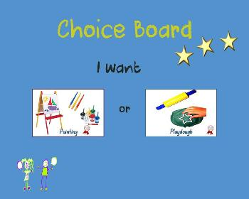 Let's Play Choice-Making Folder