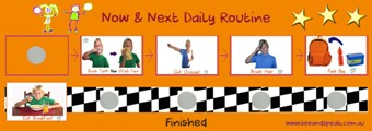 Now & Next Daily Home Routine Pack