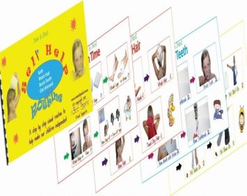 Self-Care Visual Sequence Booklet