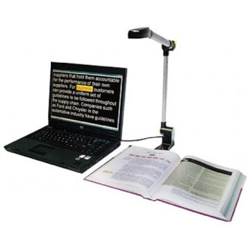Pearl and Open Book Portable Scanning and Reading