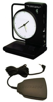 ILY Clock with Motivator Bedshaker