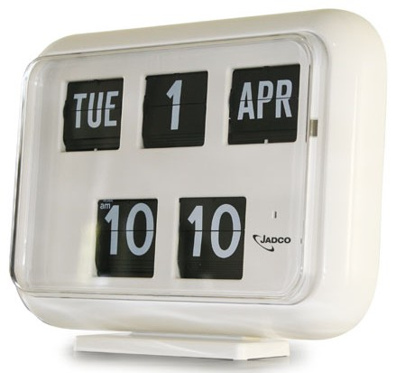 Jadco Digital Calendar Clock QD35