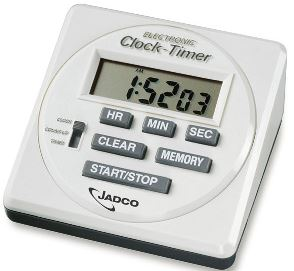 Jadco LCD Digital Clock & Timer 870A