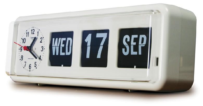 Jadco Auto Calendar Clock BQ38