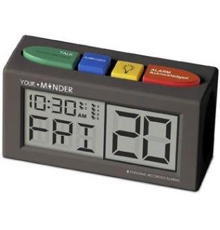 MedCenter Your Minder Personal Recording Alarm Clock