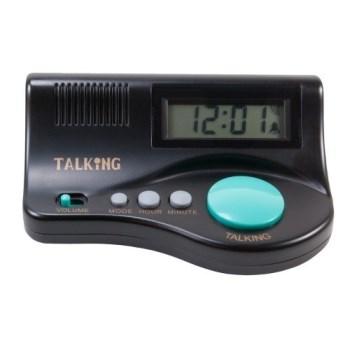 Talking Curve Alarm Clock