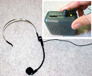 Spokeman Voice Amplification Aid