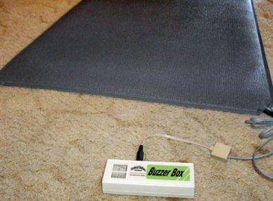 FMA2 Floor Sensor Mat Alarm - Local Buzzer