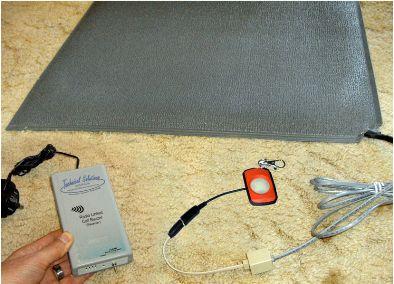 Floor Sensor Mat Alarm - Wireless Call Buzzer