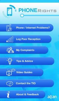 ACCAN Smartphone App - Phone Rights
